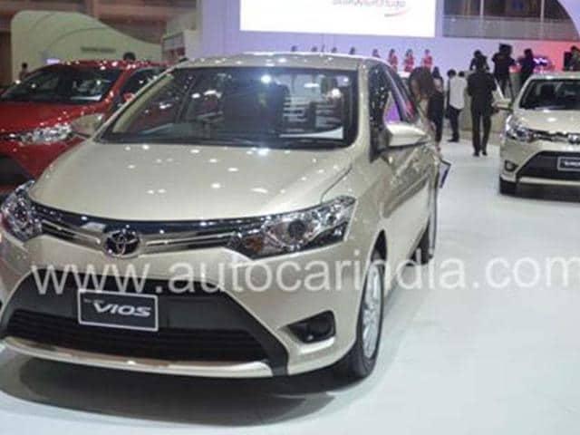 toyota,vios,Toyota showcases new Vios at Shanghai