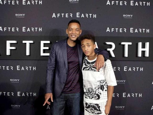 Will-Smith-and-his-son-Jaden-Smith-pose-for-photos-to-promote-their-upcoming-film-After-Earth-at-the-Summer-of-Sony-5-Edition-photo-call-in-Cancun-Mexico-AP-Photo
