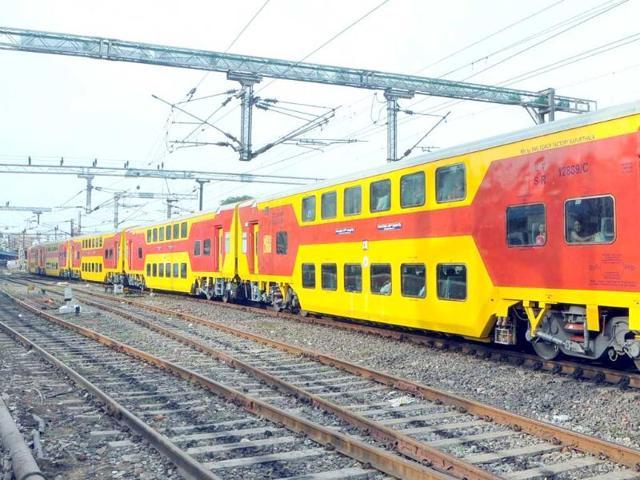 Indore,Surat,double-decker train