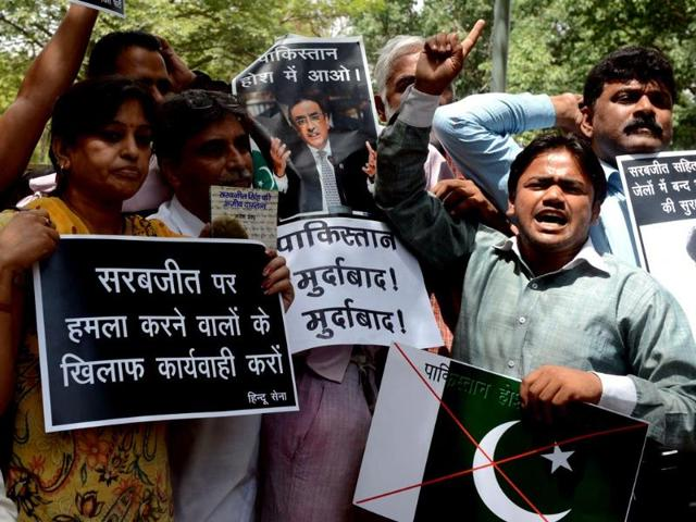 A panel of four Pakistani doctors supervising the treatment of Indian prisoner Sarabjit Singh on Monday decided that there is no requirement to send Sarabjit abroad for treatment.