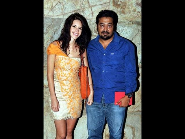Colourful-couple-Kalki-Koechlin-poses-with-Bombay-Talkies-co-director-and-husband-Anurag-Kashyap-AFP-Photo