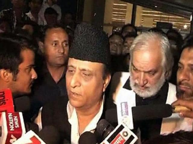 Urban development minister of Uttar Pradesh, Azam Khan several hours after his return to India today told the media, the Boston episode was more of an attack on the Muslim community.