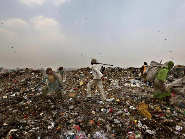 Delhi May Drown In Its Own Waste India Hindustan Times