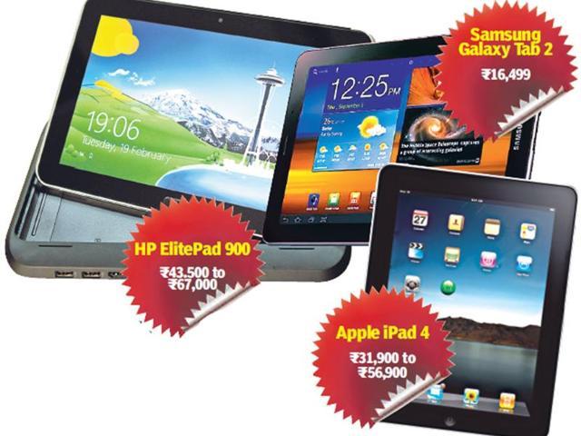 tablets in india,Hewlett-Packard,HP