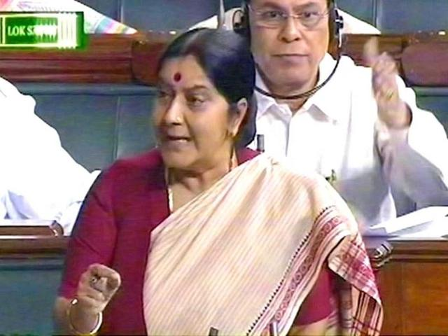 Sum given to acid attack victim insulting: Sushma