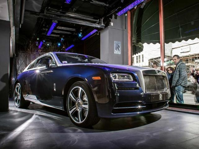 Rolls-Royce's new luxury sports coupe car,Rolls-Royce