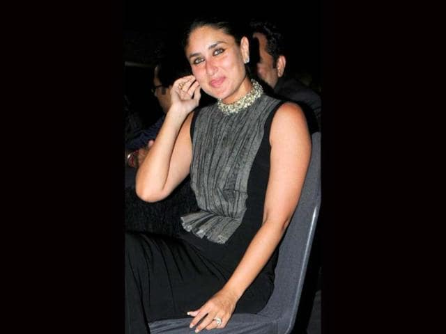 Kareena Kapoor poses during the event. (AFP Photo)