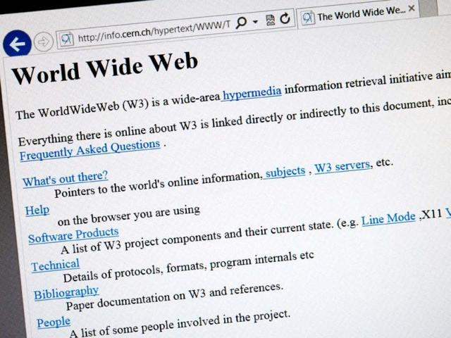 cern,internet browsers,world's first webpage