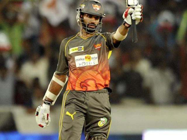 Dhawan twirls and tosses Mumbai around