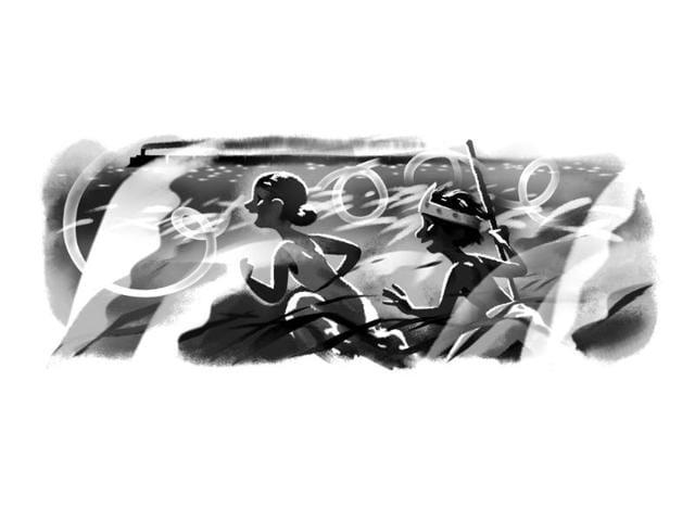 Google-Doodle-honours-Satyajit-Ray