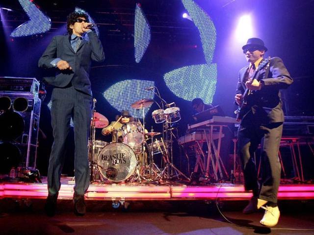 Mike-Diamond-and-Adam-Horovitz-of-US-band-Beastie-Boys-Photo-AFP-Fabrice-Coffrini