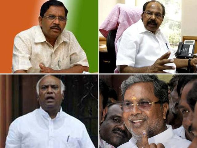 Karnataka verdict,karnataka CM,Siddaramaiah and M Mallikarjuna Kharge