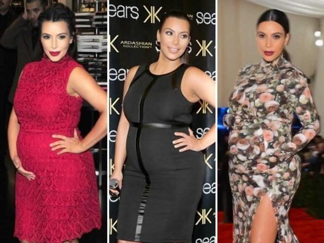 Kim-Kardashian-flaunts-her-toned-legs-in-the-red-skirt