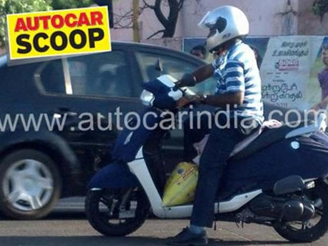 new tvs scooter