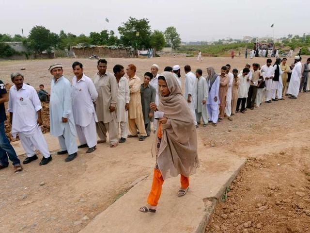 Voter turnout,Pakistan elections,pakistan polls