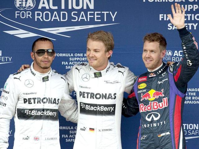 jenson button,lewis hamilton,Sebastian Vettel