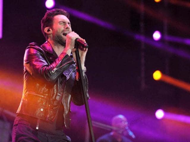 Adam Levine,Maroon 5,Victoria's Secret