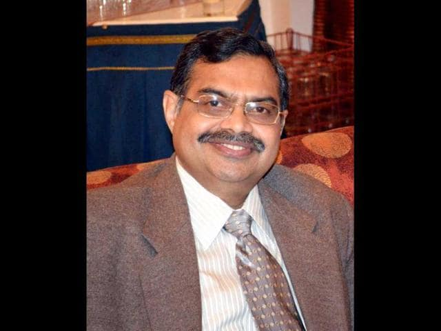 Haryana-urban-local-bodies-financial-commissioner-cum-principal-secretary-P-Raghavendra-Rao-speaks-to-HT
