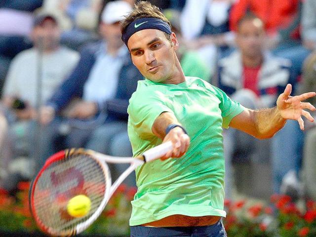 Roger Federer,Tommy Robredo,french open