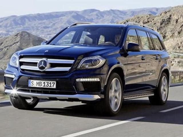 Mercedes GL,attractive exteriors,practicality