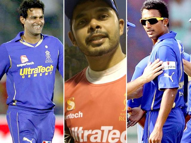 A-combination-picture-showing-three-players-of-Rajasthan-Royals-clockwise-Ankeet-Chavan-S-Sreesanth-and-Ajit-Chandila