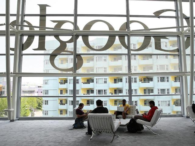 File-photo-shows-the-Google-logo-during-a-press-announcement-at-Google-headquarters-in-New-York-Photo-AFP