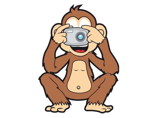 blurry photos,London auction,chimpanzee