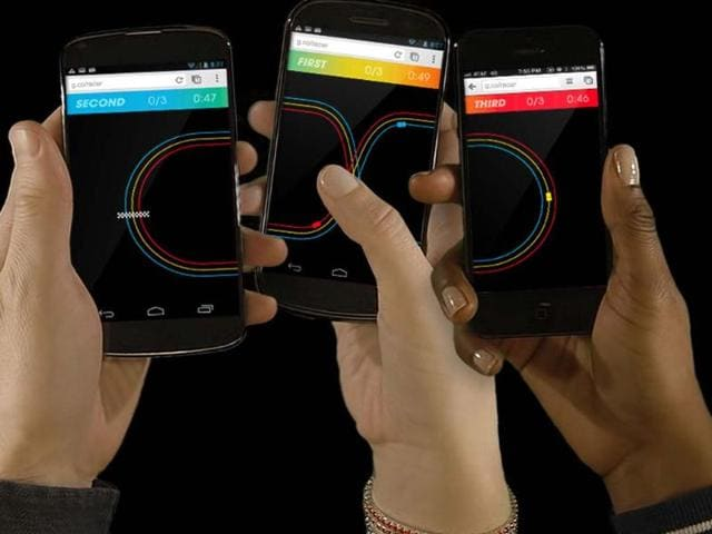 Chrome-Racer-played-across-a-number-of-devices-Photo-AFP
