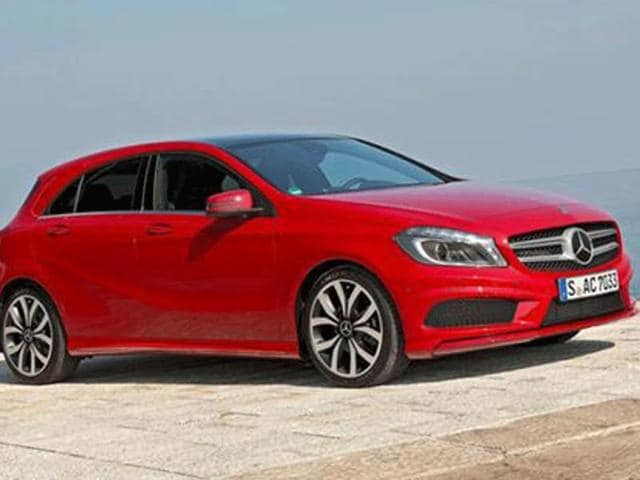 Mercedes A-class launched