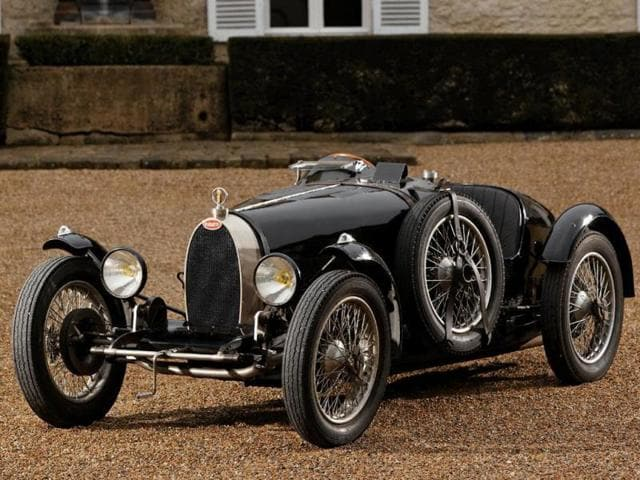 1927 Bugatti Type 37 Grand Prix : With the launch of the Type 37 Grand Prix model, Bugatti created one of the most iconic racing cars in history, a bargin at €1,000,000. Photo:AFP