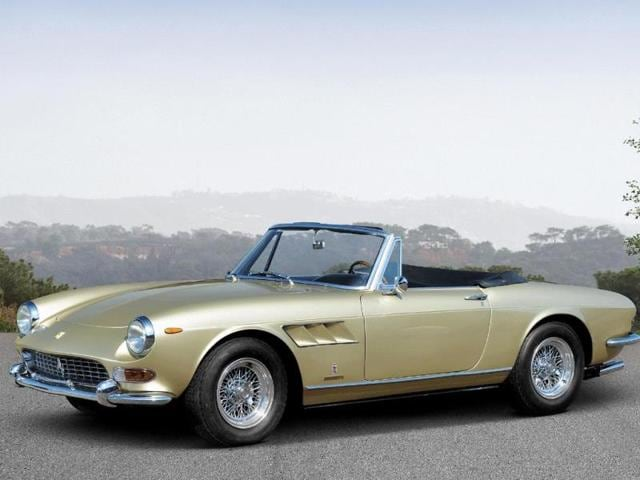 1965 Ferrari 275 GTS by Pininfarina : An excellently preserved example of a car that has always had the right balance of power and poise, it could still give some modern sportscars a run for their money in terms of both performance and looks. €650,000 - €780,000. Photo:AFP