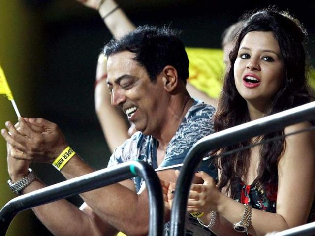Vindoo-Dara-Singh-and-Chennai-Super-Kings-skipper-MS-Dhoni-s-wife-Sakshi-watch-a-T20-match-in-Chennai-in-this-April-2013-file-photo-R-Senthil-Kumar-PTI