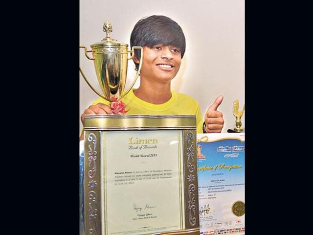 Mayank-Sharma-made-it-to-the-Limca-Book-of-World-Records-HT-Photo