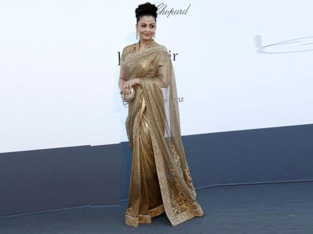 Actress Aishwarya Rai arrives for amfAR