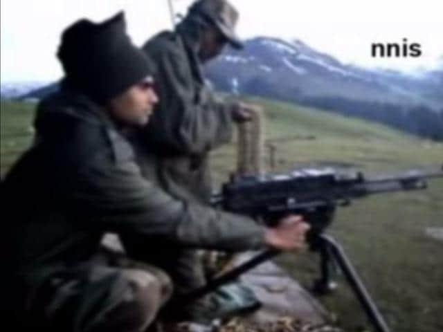 Pakistani troops ceasefire