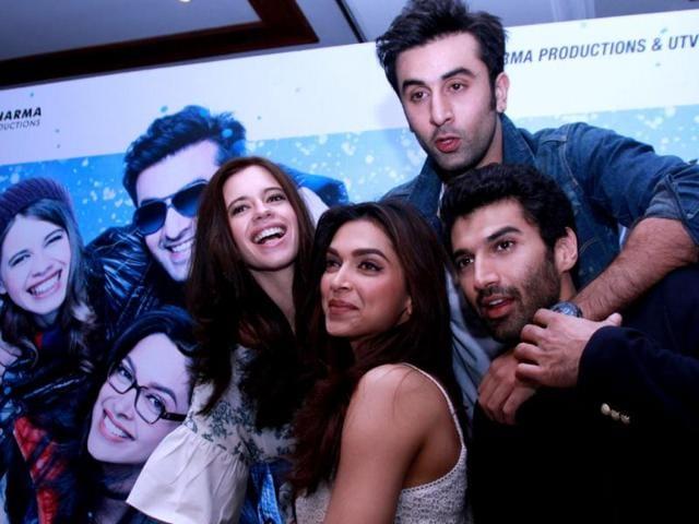 Ranbir Kapoor,Deepika Padukone,Yeh Jawaani Hai Deewani