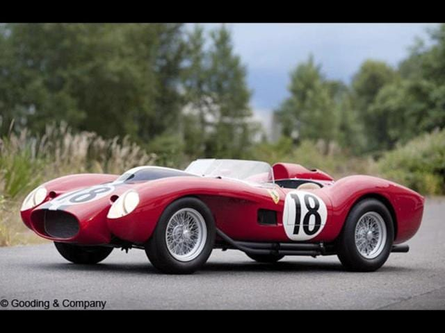1957 Ferrari 250 Testa Rossa - $16.39 million (2011) : In second place is the first of two Testa Rossas, this one sold at auction in 2011 has incredible racing pedigree. What's more, it is actually the prototype model on which all subsequent Red Heads (Testa Rossa means read head in Italian) were based. The car was painstakingly restored after it crashed on the track and burst into flames. Photo:AFP