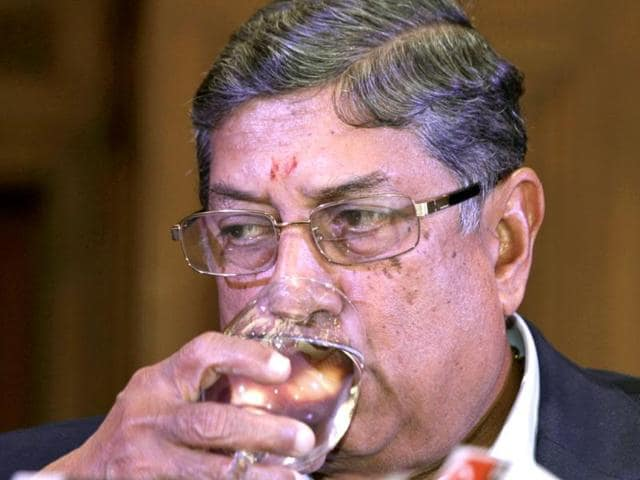 N Srinivasan,BCCI President,Emergent Working Committee