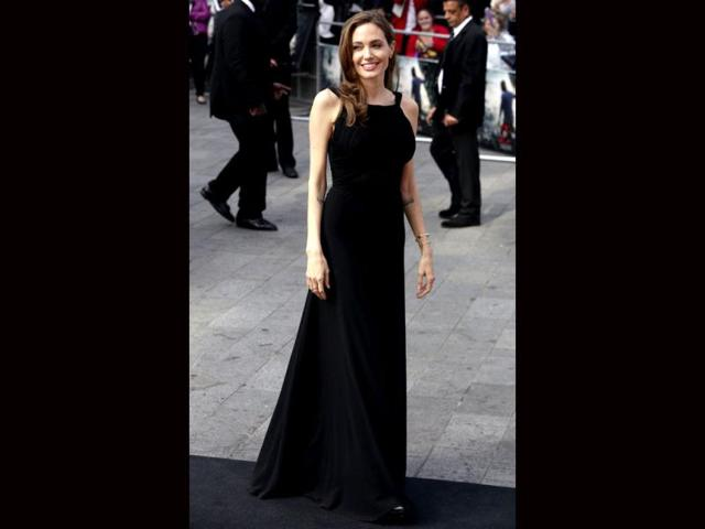 Angelina Jolie steps out after mastectomy