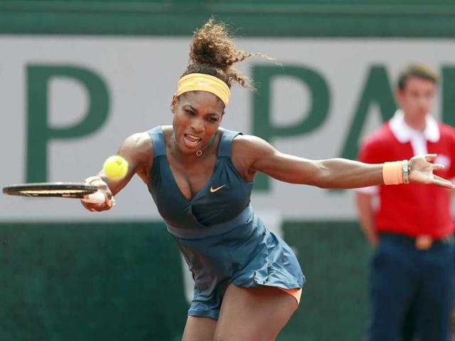 Serena reigns supreme in Paris