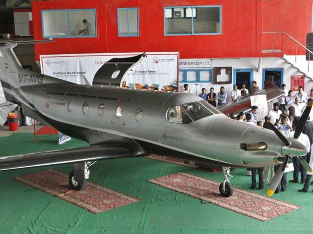 MP-government-started-the-facility-of-air-ambulance-free-of-cost-for-BPL-patients-Raj-K-Raj-HT-photo
