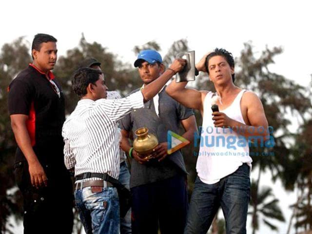 Shah Rukh Khan,Deepika Padukone,Rohit Shetty
