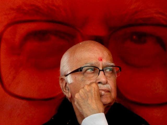 advani,rajnath singh,bjp