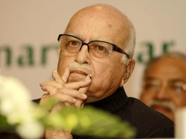 Senior-BJP-leader-Lal-Krishna-Advani-attends-a-conference-in-New-Delhi-Sonu-Mehta-HT