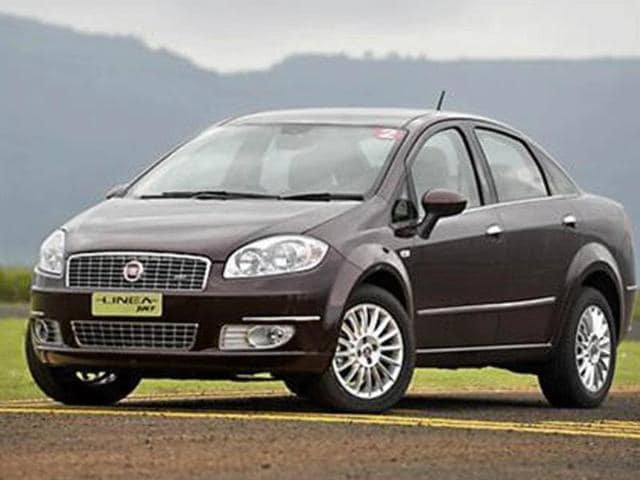 fiat linea t-jet price in india