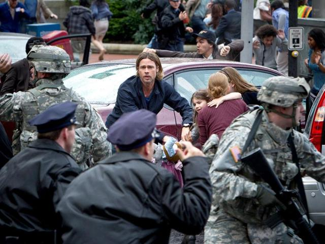 Brad Pitt,World war z,review