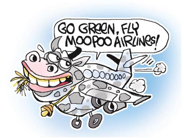 A-plane-powered-by-cow-dung-has-been-short-listed-as-one-of-the-ideas-in-an-aircraft-designing-contest-The-contest-Fly-Your-Ideas-is-sponsored-by-Airbus