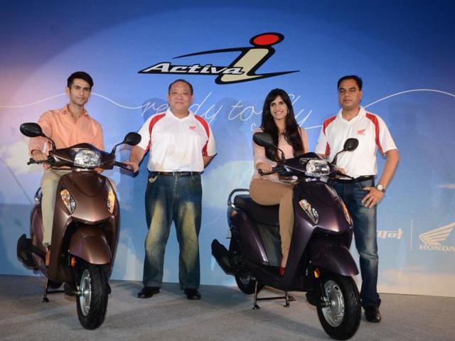 Honda-Motorcycle-launches-ACTIVA-I