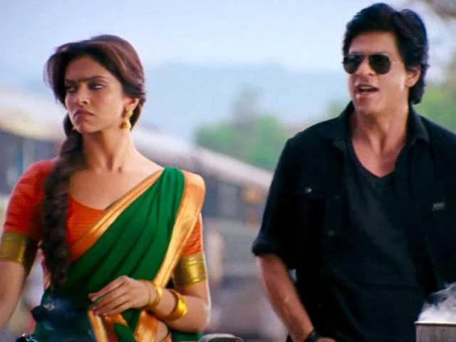 Deepika Padukone plays the daughter of a don in Chennai Express.