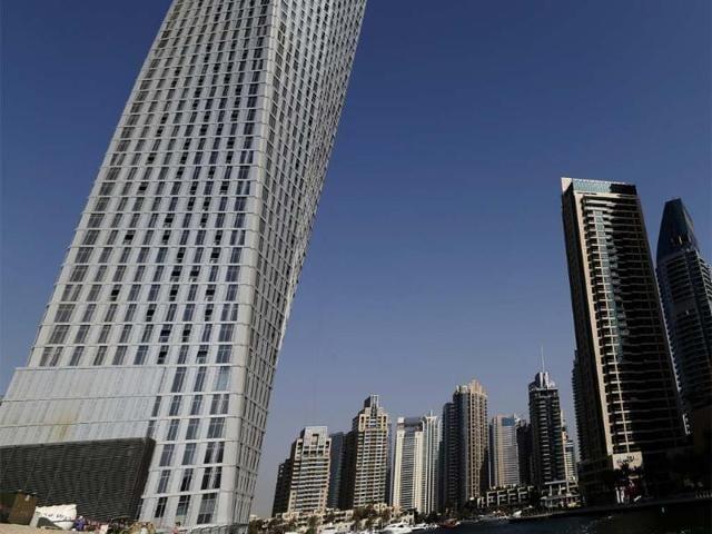 Dubai,Cayan Real Estate Investment,Cayan Tower
